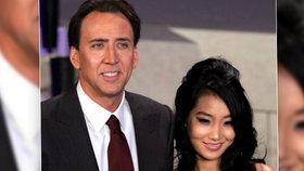 Hollywoodský herec Nicolas Cage se po 12 letech rozvádí! Krachlo mu už 3. manželství