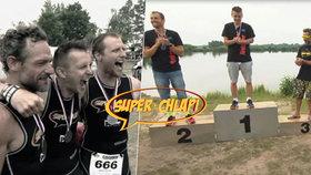 Superchlapi překonali sami sebe: Do cíle doběhli úplně všichni