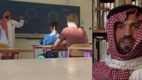 """Profesor v Plzni přišel do třídy v arabském obleku: """"Islamista!"""" báli se rodiče. Nyní skončil"""
