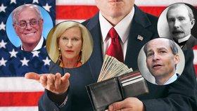 """Přehled nejbohatších klanů USA: Rockefellerové patří mezi ty """"chudé"""""""