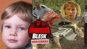 15 let od smrti Terezky Čermákové: Opilá matka ji zabila a pak předstírala zmizení