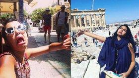Manželka musela jet na líbánky sama, protože muž nedostal víza: Její fotky z dovolené baví internet!