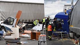 Čech za volantem kamionu rozválcoval karavan v Německu, zabil v něm tři lidi