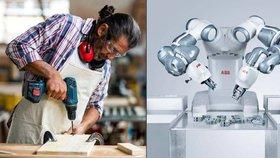 Češi, až půlku z vás můžou v práci nahradit roboti. Odhalila to vládní analýza