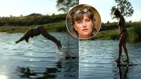 Zdeňka Pohlreichová při boji s rakovinou přišla o prso: Svléknout se však nebojí a do vody na dovolené skočila ve spodním prádle!