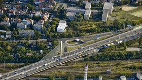 """Vršovický, nebo Lanový? TSK hledá nový název pro most """"Y529-SDO-ČSD přes Mitas"""" na Jižní spojce"""