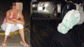 VIDEO: Žena po 10 pivech bourala s malými dětmi. Pak se smála a sváděla strážníka