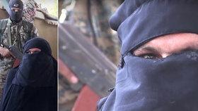 Ponížení řezníci Islámského státu: Před Kurdy utíkali v ženských šatech