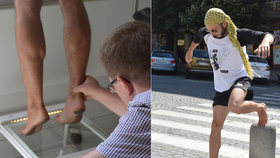 Bosonožec Lukáš: Chodí a běhá bez bot. Co na to ortoped?