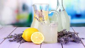 Zdravé domácí osvěžení: Připravte si báječnou domácí limonádu!