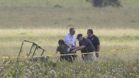 Zřícení balónu v Texasu: Stále nenašli všechny oběti