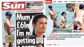 Naháč Orlando Bloom: Pirát z Karibitu zahodil stud i plavky!