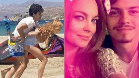 Takhle Lindsay Lohan seřezal milenec: Prso venku, zkroucená ruka a šílený řev