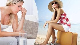 Bláznivé letní počasí: Střídání teplot ohrožuje srdce! Problémy mají astmatici, senioři i děti