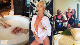 Bývalá sexbomba Belohorcová: Ostříhaná na kluka se zase svlékla do naha!