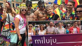 Rekordní průvod Prague Pride: 40 tisíc lidí došlo na Letnou. Zábava pokračovala do noci