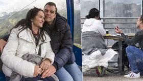 Zásnuby Gregorové (63) a zajíčka Ondry (31): Předmanželská smlouva! Koptík zdědí po smrti Hany urnu…