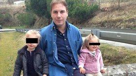Právník Richard skočil z mostu: Zůstaly po něm dvě malé děti