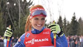 Miláček národa Gábina Koukalová: Jak se proměnila v nejkrásnější sportovkyni světa