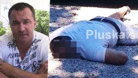 Mrazivé foto popravy před nevěstincem: Takhle našli zastřeleného Dalibora