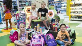 Blesk vzal děti na nákup školních potřeb: Co si prvňák vybere za 10 minut?