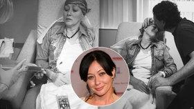 """Brenda z Beverly Hills na chemoterapii: """"Červeného ďábla"""" jí vpíchla do těla její sestra"""