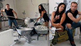 Cvičitelka Kynychová je na pokraji zhroucení! Místo fitka má ruinu