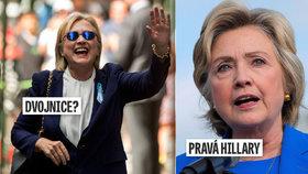 """""""Clintonová vyslala dvojnici,"""" míní kospirátoři. Generál ji označil za packalku"""