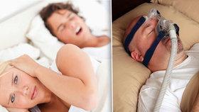Trpíte nebezpečným syndromem spánkové apnoe? Otestujte se! Odborník vysvětlil, v čem je problém!