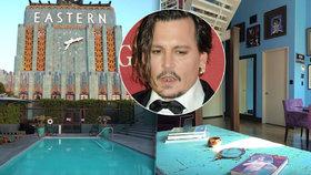 Johnny Depp prodává luxusní bydlení za 300 milionů, aby mohl vyplatit bývalku