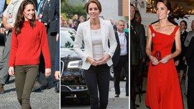 Vévodkyně Kate v Kanadě opět zazářila: Kterou značku oblékla nejčastěji?