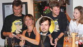 Velmi zamotané vztahy: Vilhelmová na jedné party s manželkou exmanžela a svým bývalým švagrem