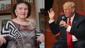 Trumpova extchyně Zelníčková: Don byl nejlepší muž Ivany a místo vína pije mléko