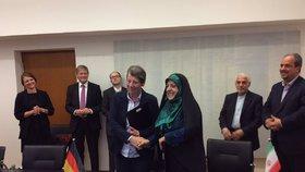 Německou ministryni si Íránci spletli s mužem a volali po demisi. Byla to lesba
