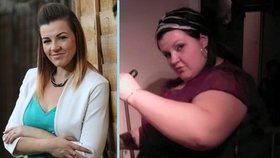 Neuvěřitelné! Ženě se podařilo zhubnout o 90 kilogramů i bez operace žaludku!