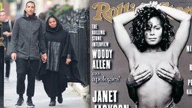 Janet Jackson: Je z ní muslimka? Těhulka v šátku