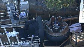 Smrt v lunaparku: Čtyři lidé byli rozmačkáni na vodní jízdě