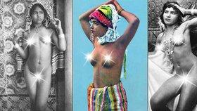 Podívejte se na akty afrických krásek, které pořídil fotograf českého původu