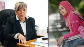 Ředitelka, která zakázala muslimce hidžáb: S šátkem z baru půjdete operovat?