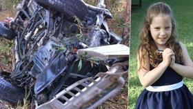 Dívka (7) vytáhla po bouračce z vraku auta bratříčky (2 a 3), máma byla v bezvědomí