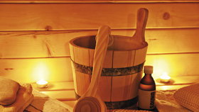 Zima velí jít do sauny