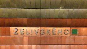 Metro Želivského čeká zhruba tříletá oprava. Stanice nebude přístupná pouze při výměně eskalátorů