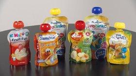 Velký test: Většina ovocných kapsiček prošla, některé však dětem nedávejte!