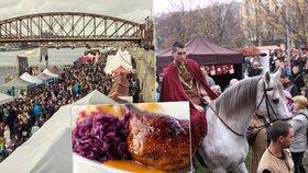 Svatý Martin přiveze husu, mladé víno, cimbálovku i tanec v krojích. Kde všude v Praze si užijete slavnosti?