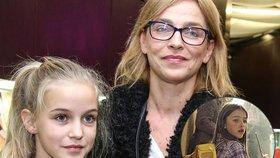 Dcera Lucie Zedníčkové: V 11 letech vypadá jako máma před 36 lety