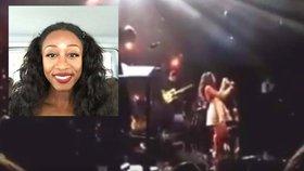 Kolaps zpěvačky Beverley Knight: Na koncertu padala před lidmi