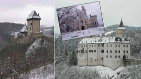 Zažijte opravdovou zimní pohádku: Které hrady a zámky zůstávají otevřené i mimo sezonu?