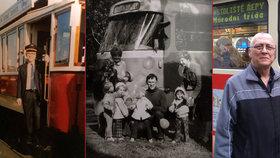 43 let tramvajákem v Praze: Josef najel 1,5 milionu kilometrů, vzpomíná na děti z dětských domovů i mrtvolu