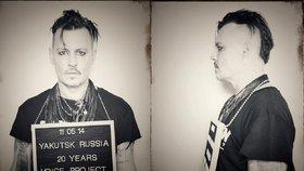 Johnny Depp jako mukl? Podpořil uvězněného filmaře Sencova