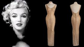 Slavné šaty Marilyn Monroe se prodaly za 4,8 milionu USD